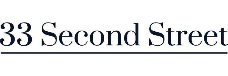33 Second Street logo